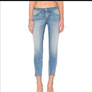 Amo Twist Jeans in 70's blue